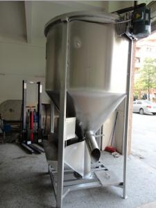 Big Screw Plastic Vertical Batch Mixer