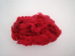 Red Color Polyester Staple Fiber