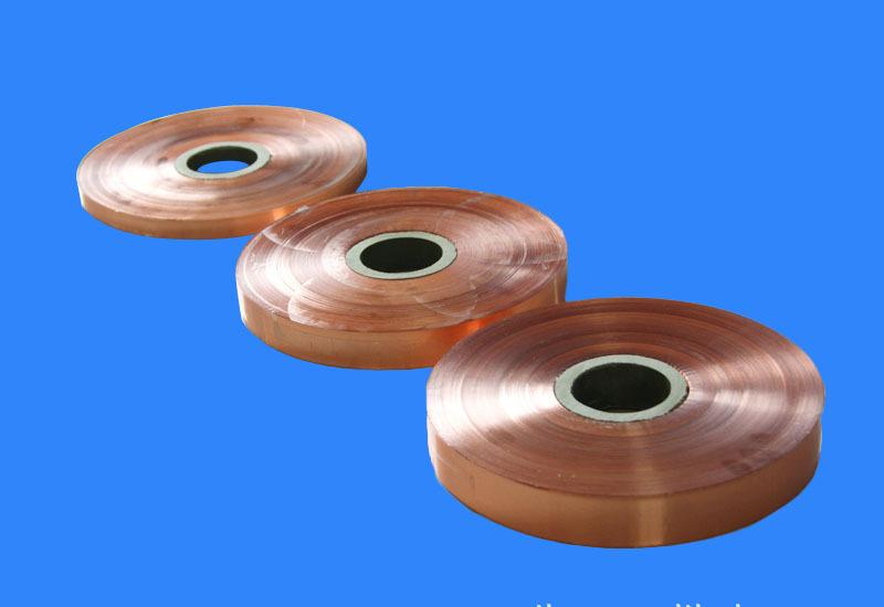 copper foil mylar polyester film for cable
