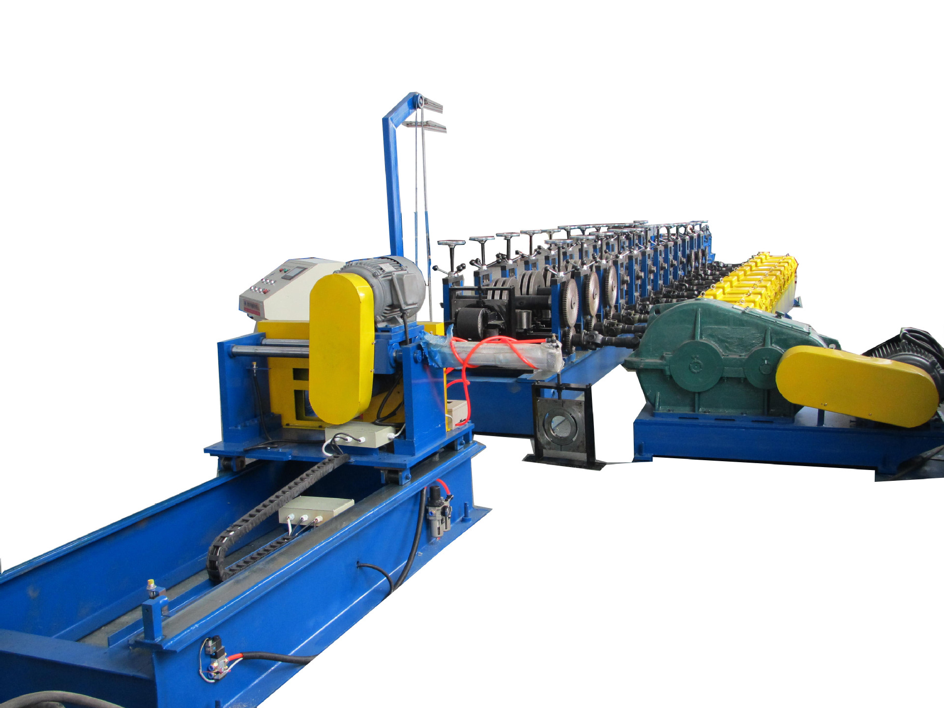 Good qualtuy and service solar frame cold roll forming machine