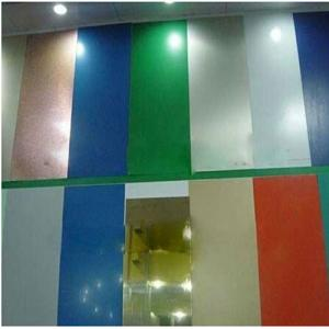 Aluminum Coil Sheet Goleden Brush For Decoration Plate