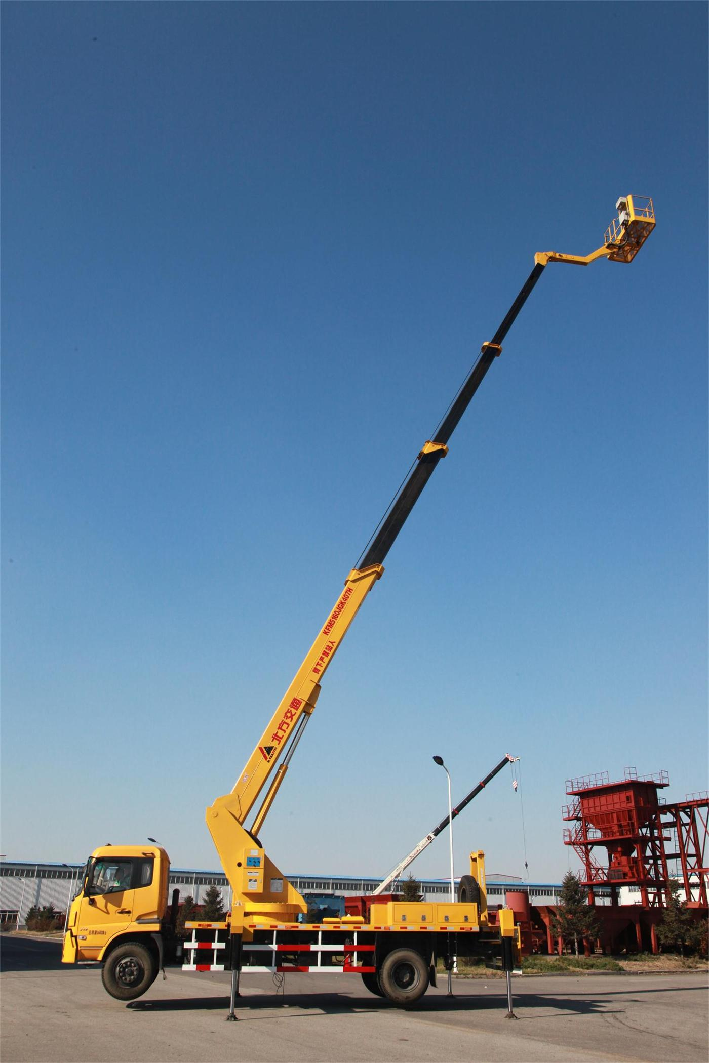 Composite boom aerial working platform working height 35m