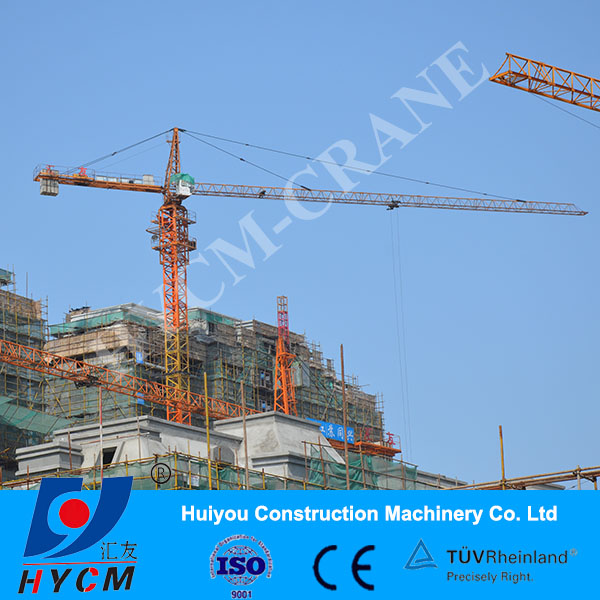 qtz5013 power inverter tower crane
