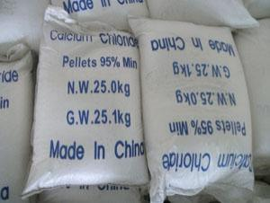 Calcium Chloride granular white color from china