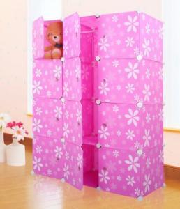 printing diy folding plastic cabinet
