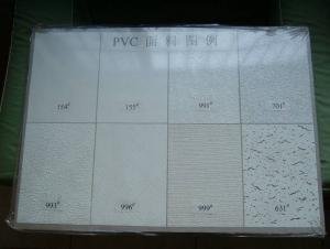 Common Gypsum Board Facing With PVC
