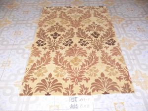 Hand Looped Area Rug from Tianjin Factory