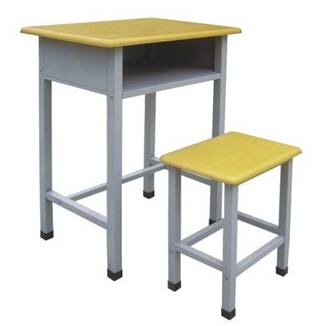 Double Student Desk and chair SDC-0811