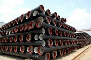 Ductile iron pipe DN100