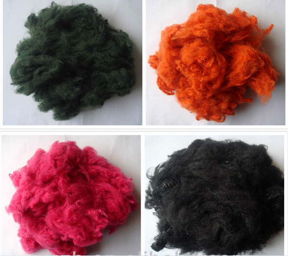 Polyester Staple Fiber in Different Color