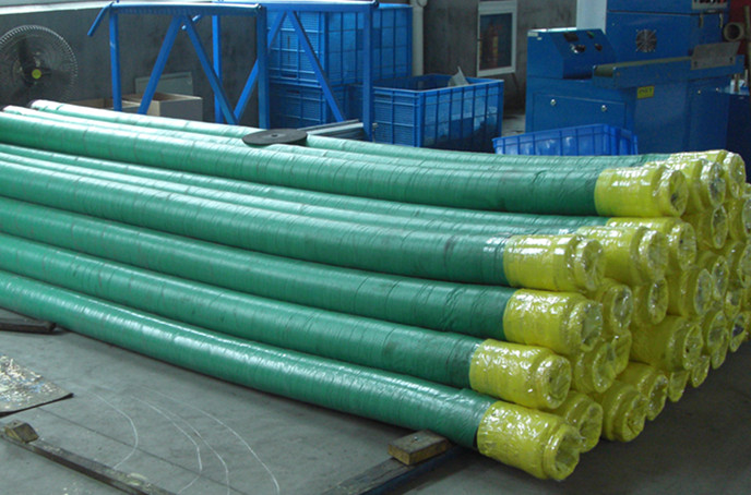 Concrete Pump Rubber End Hose with  Schwing Coupling