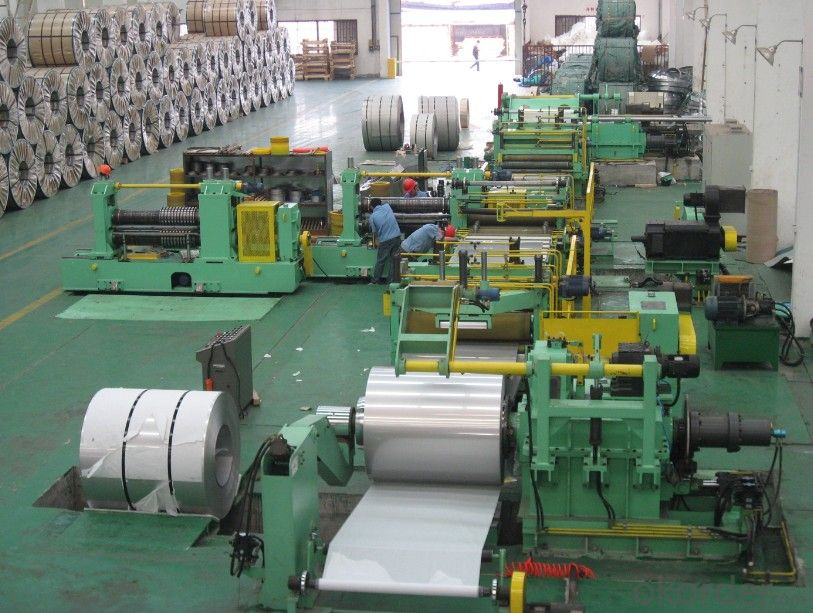 Slitting and Cut to Length Machine Line No.8