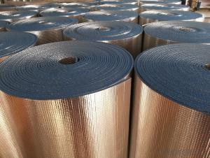 aluminum foil foam heat insulation material