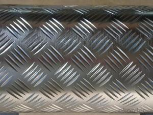 Embossed Aluminum Sheets Five-Bar