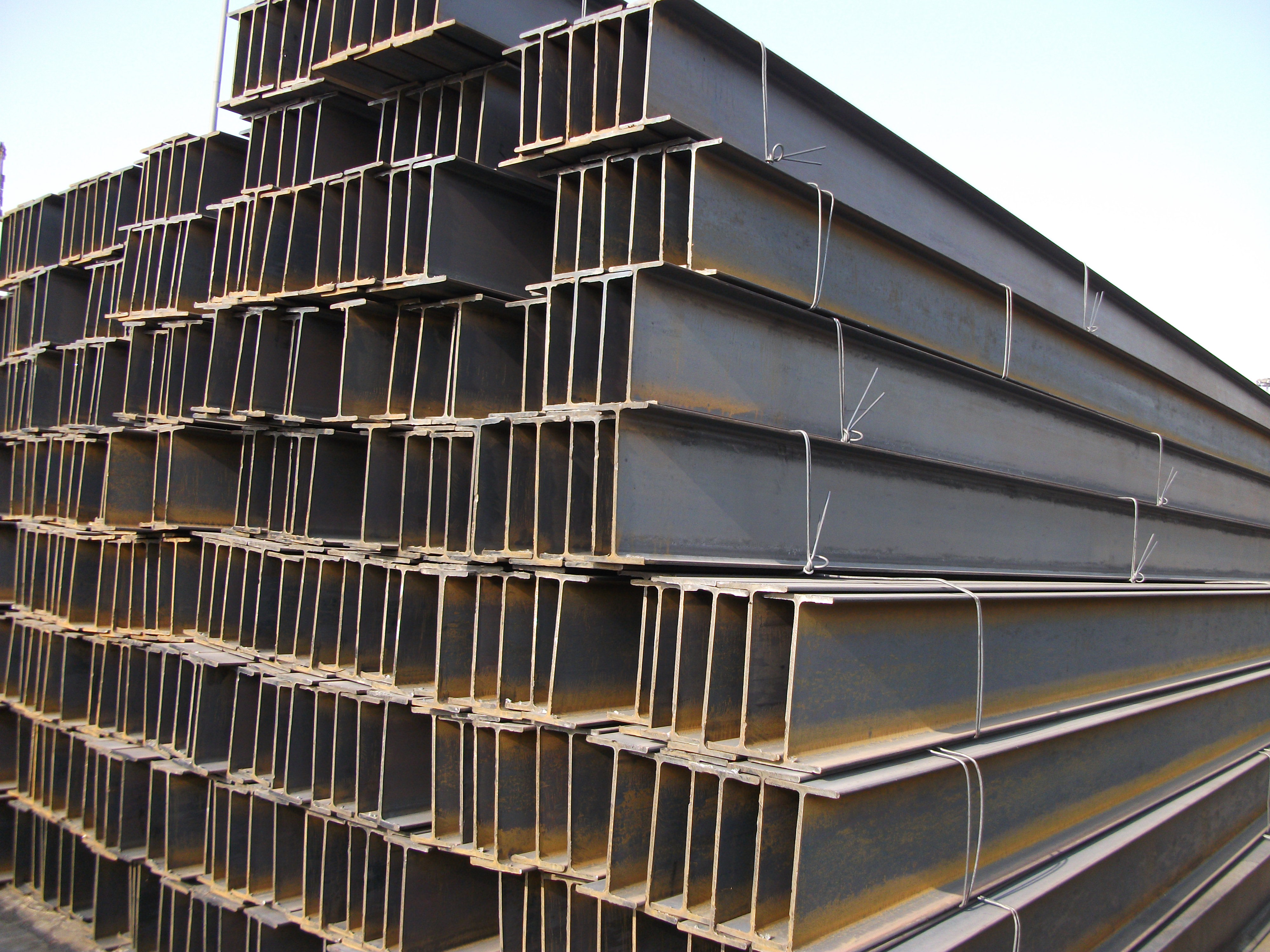 ASTM A36 Steel H Beams Used for Construction