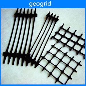 Plastic geogrid