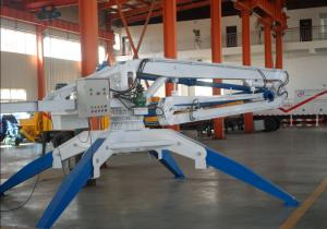 easy opreation hydraulic mobile concrete placing boom
