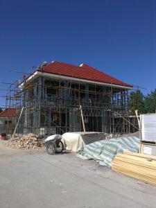 steel house Double floor appartment