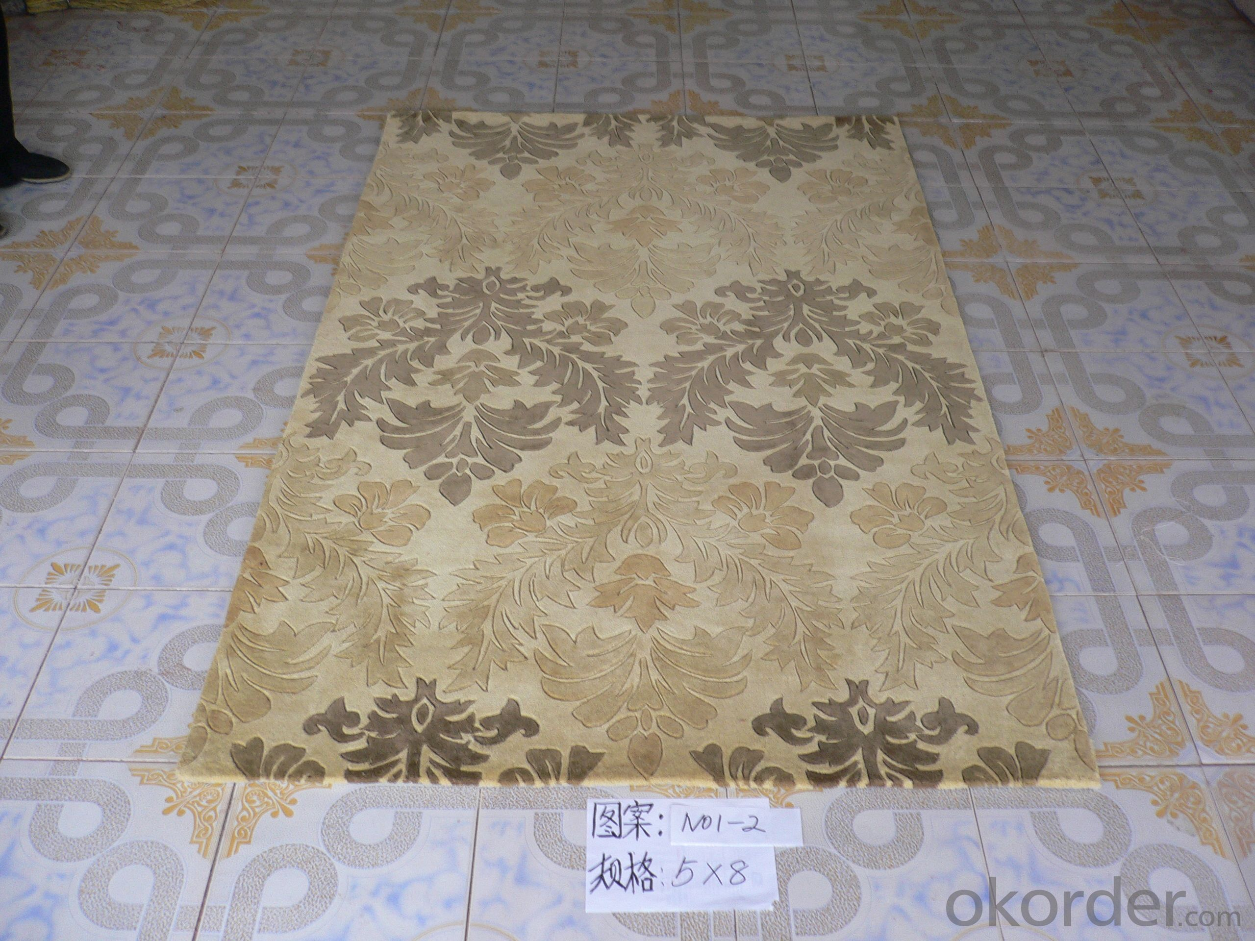 Persian Design Hand Tufted Acrylic Carpets
