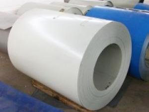Pre-Painted Galvanized Steel Coil in White