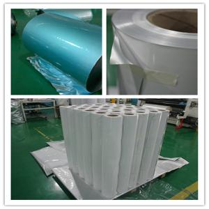 polyester film with foil  PE