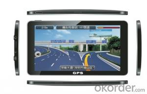 HD 7 inch car gps navigation with wireless rearview camera