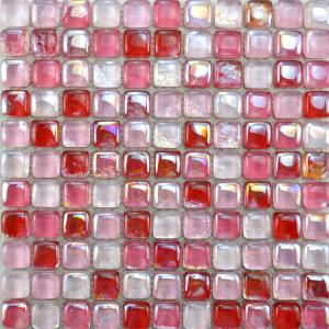 China Tiles Glass Mosaic Tiles Cube Tile KC077