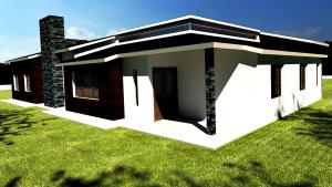 Light Steel Villa for South America