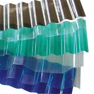 Corrugated Polycarbonate PC Sheet for roofing
