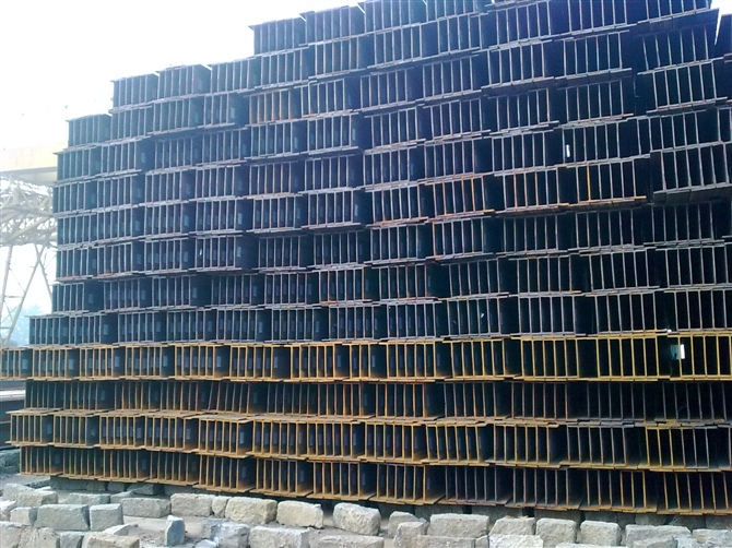 Hot Rolled GB Standard Steel H Beams