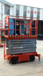 Fourteen  meters  mobile lift table