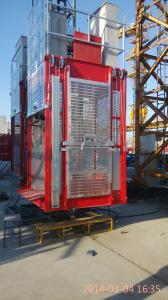 Split Type Construction Hoist for Elevator Shaft