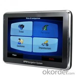 Five inch GPS Navigator with Bluetooth L306