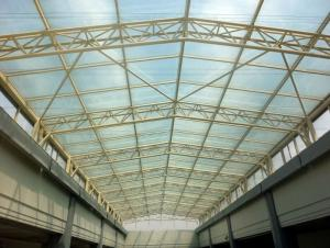 Steel Tube Truss Structure building