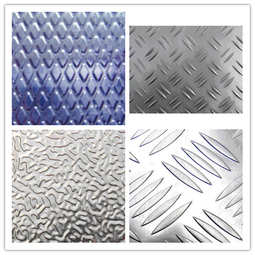 Aluminum Sheet/ Coil of Embossed/Tearplates/Stucco for construction