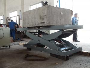 Stationary type hydraulic lift table