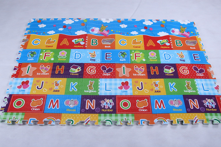 Interlocking EPE Alphabet Mat
