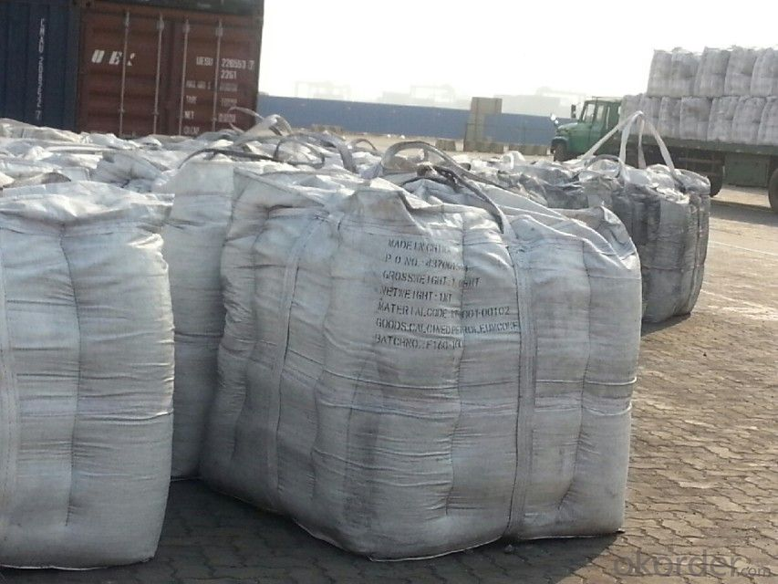 Calcined Petroleum Coke/Graphite Recarburizer for Steel-Smelting