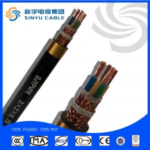 Corrosion protection armoured computer cable