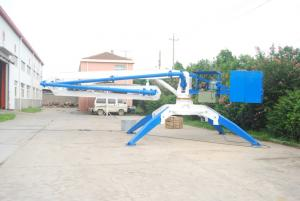 hydraulic mobile concrete placing boom