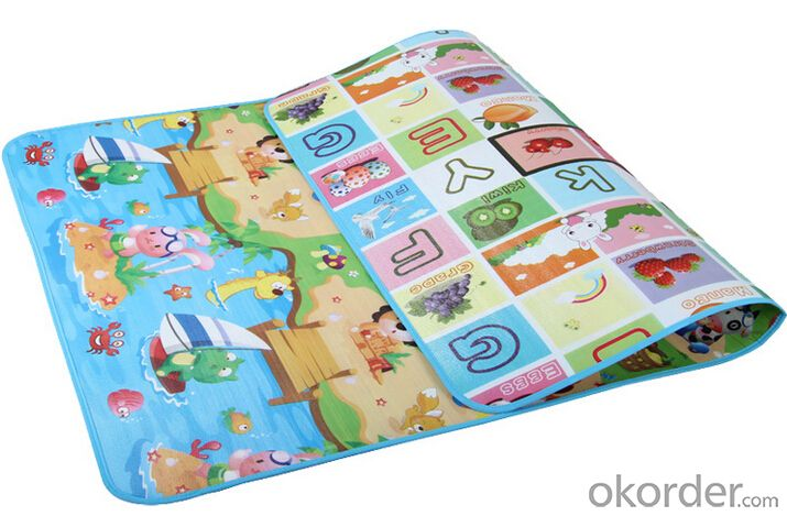 EPE, XPE 180x120x1cm double-sided baby playing mats