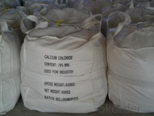 Calcium Chloride 74% with Best Quality and Competitive Price