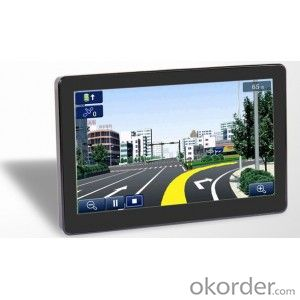 HD 7 inch car gps navigation with DVB-T or ISDB-T Bluetooth