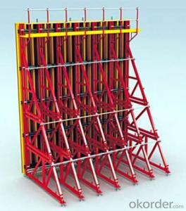 Single-side bracket formwork system