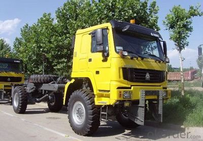 HOWO All Wheel Drive Truck 4X4 YELLOW