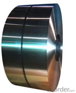 Tinplate for metal packaging