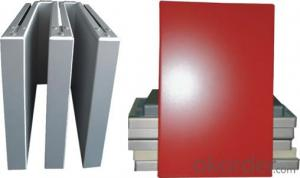 Coated Square Aluminium Panel