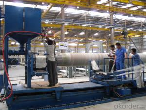 FRP PIPE FILAMENT WINDING MACHINE DN1000-2000