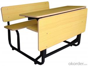 Student desk and chsir,double desk and chair