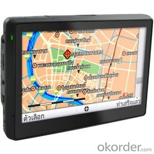 The hottest 5 inch Car GPS navigation system with bluetooth av-in